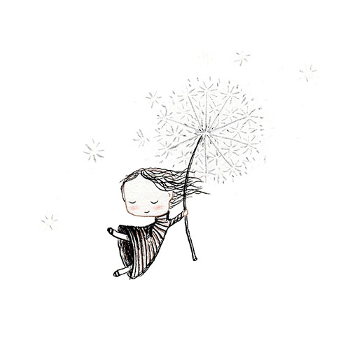 00 dandelion girl